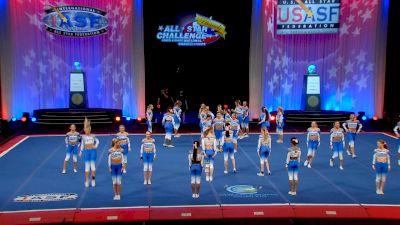 The Stingray Allstars - Marietta - Peach [2021 L6 Senior Medium All Girl Finals] 2021 The Cheerleading Worlds