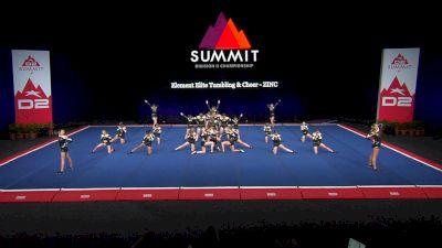 Element Elite Tumbling & Cheer - ZINC [2021 L3 Junior - Medium Wild Card] 2021 The D2 Summit