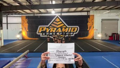 Pyramid Athletics - Queens [L4 Senior - Non-Building] 2021 Varsity All Star Winter Virtual Competition Series: Event II