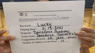 DanzForce Academy - Danzforce Sr Elite [Senior Jazz] 2021 NCA & NDA Virtual March Championship