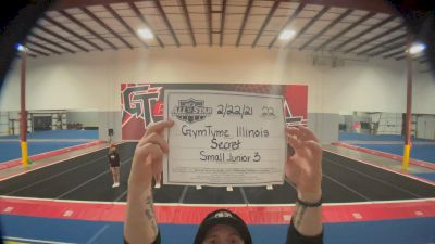 GymTyme All-Stars - Illinois - Secret [L3 Junior - Small - B] 2021 NCA All-Star Virtual National Championship