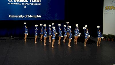 University of Memphis [2021 Division IA Pom Semis] 2021 UCA & UDA College Cheerleading & Dance Team National Championship