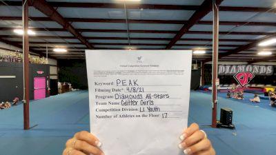 Diamonds All Stars - Glitter Girls [L1 Youth - Small] 2021 The Regional Summit Virtual Championships