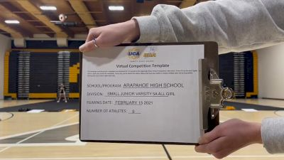 Arapahoe High School [Small Junior Varsity] 2021 UCA February Virtual Challenge