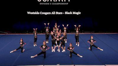 Westside Cougars All Stars - Black Magic [2021 L1 Junior - Small Finals] 2021 The D2 Summit