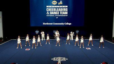 Northwest Community College [2021 Open Small Coed Finals] 2021 UCA & UDA College Cheerleading & Dance Team National Championship