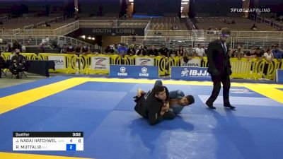 Jackson Nagai Secures A Rare 50-50 Armbar