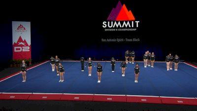 San Antonio Spirit - Team Black [2021 L3 Junior - Small Finals] 2021 The D2 Summit