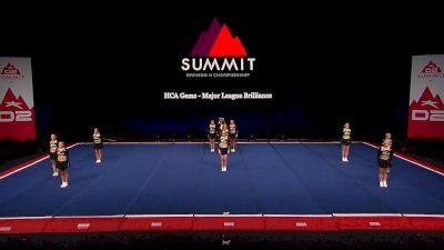 HCA Gems - Major League Brilliance [2021 L4.2 Senior - Small Semis] 2021 The D2 Summit