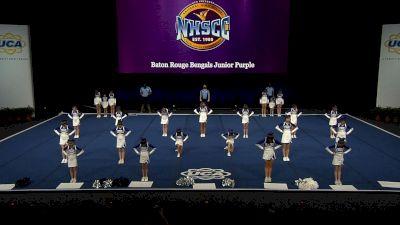 Baton Rouge Bengals Junior Purple [2021 Trad Rec Non Aff 12Y Semis] 2021 UCA National High School Cheerleading Championship