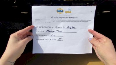Northville High School [Medium Varsity - Jazz] 2021 UCA & UDA March Virtual Challenge