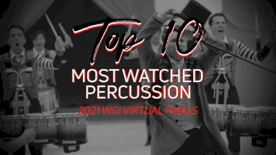 TOP 10: Most Watched Percussion WGI Virtual Finals
