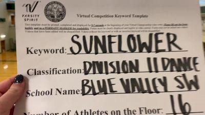 Blue Valley Southwest High School [Division II Dance] 2020 KSHSAA Game Day Spirit Virtual Showcase