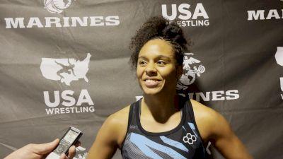 Maya Nelson Inspired By Tamyra Mensah-Stock's Gold Medal Run