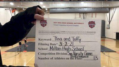 Milton High School [Advanced Varsity Game Performance] 2021 NCA High School Nationals