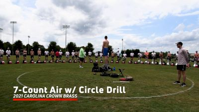 2021 Carolina Crown Brass: 7-Count Air with Circle Drill