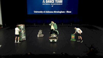 University of Alabama-Birmingham - Blaze [2021 Mascot Semis] 2021 UCA & UDA College Cheerleading & Dance Team National Championship
