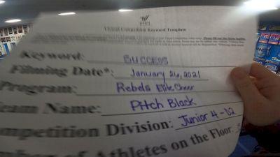 Rebels Elite - Pitch Black [L4 Junior - D2] 2021 Athletic Championships: Virtual DI & DII