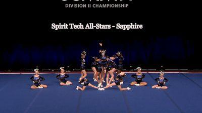 Spirit Tech All-Stars - Sapphire [2021 L1 Junior - Small Finals] 2021 The D2 Summit
