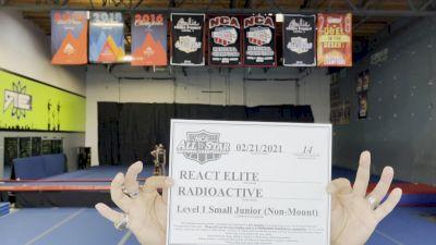 REACT Elite - Radioactive [L1 Junior - Non-Building] 2021 NCA All-Star Virtual National Championship
