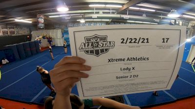 Xtreme Athletics - Lady X [L2 Senior - D2 - Small] 2021 NCA All-Star Virtual National Championship