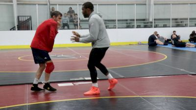 Burroughs And Vito Movement And Handfight