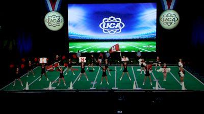 Indian Hill High School [2021 Varsity Non Building Game Day Semis] 2021 UCA National High School Cheerleading Championship