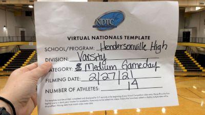 Hendersonville High School [Small Varsity - Game Day Virtual Semi Finals] 2021 UDA National Dance Team Championship
