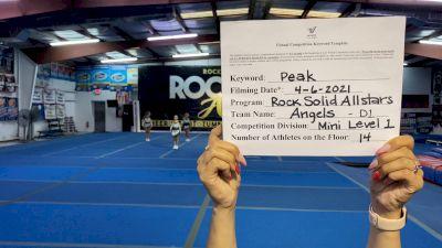 Rock Solid All Stars - Angels [L1 Mini] 2021 The Regional Summit Virtual Championships