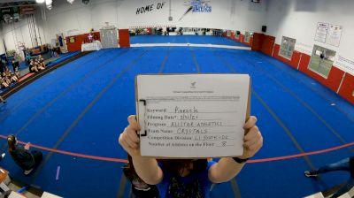 Allstar Athletics - CRYSTALS [L1 Youth - D2] 2021 The Regional Summit Virtual Championships
