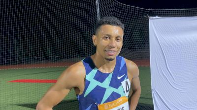 Isaiah Harris Bounces Back From Tough Debut With 800m Win