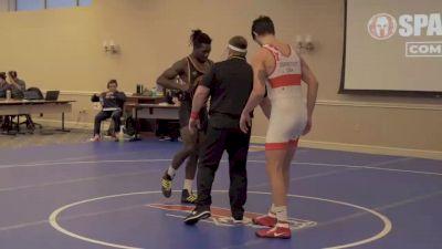 Ben Darmstadt, Spartan Combat RTC vs Khalil Shakur, Life University