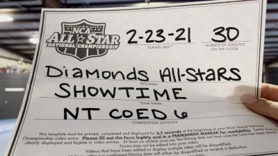 Diamonds All Stars Showtime - Showtime [L6 International Open Coed - NT] 2021 NCA All-Star Virtual National Championship