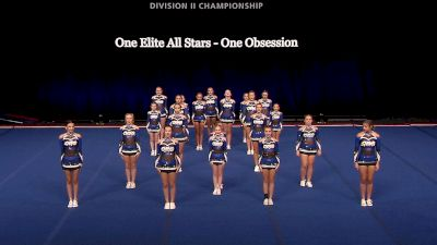 One Elite All Stars - One Obsession [2021 L2 Junior - Small Finals] 2021 The D2 Summit