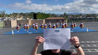 Esperanza High School [High School - Fight Song - Cheer] 2021USA Virtual Spirit Regional #2 and All Star Dance Regional #1
