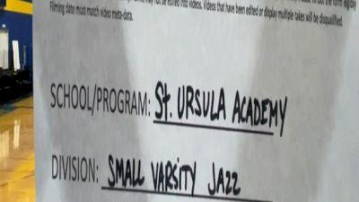 St Ursula Academy [Small Varsity - Jazz] 2021 UCA & UDA March Virtual Challenge