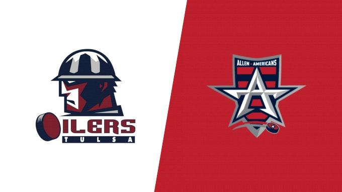 picture of 2021 Tulsa Oilers vs Allen Americans