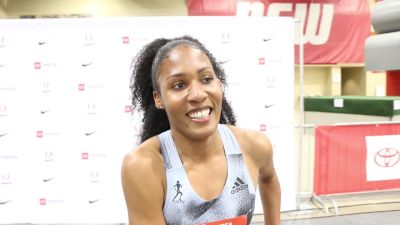 Ajee Wilson Hopes To Be More Focused This Year