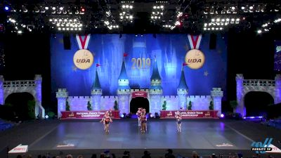 Stevenson High School (MI) [2019 Medium Pom Finals] UDA National Dance Team Championship