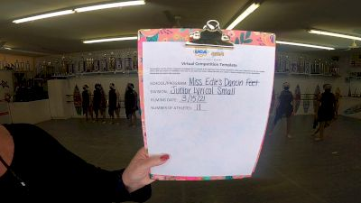 Miss Edie's Dancin Feet [Junior Small Contemporary/Lyrical] 2021 UCA & UDA March Virtual Challenge