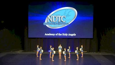 Academy of the Holy Angels [2020 Small Pom Semis] 2020 UDA National Dance Team Championship