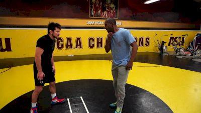 Jamil Kelly: Wrap Leg Throw