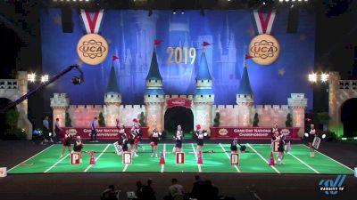 St Michael the Archangel High School [2019 Game Day - Medium Varsity Semis] 2019 UCA National High School Cheerleading Championship