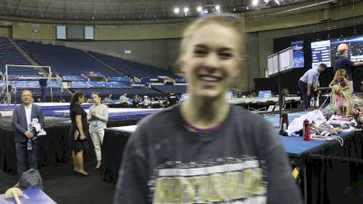 Interview: Nicole Lehrmann, OU - 2019 NCAA Championships