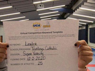 Teurlings Catholic High School [Super Varsity] 2020 UCA Louisiana Virtual Regional