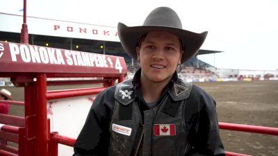 Lane Cust Rides The Legendary Vold Rodeo Horse 'Pedro'