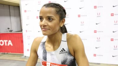 Kaela Edwards Takes Second In 800m After Challenging 2019