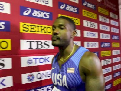 Justin Gatlin Says His Hamstring Injury Has Healed, Won't Reveal Why He Returned To Dennis Mitchell