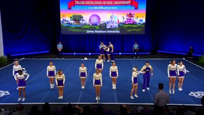 James Madison University [2019 Small Coed Division I Finals] UCA & UDA College Cheerleading and Dance Team National Championship