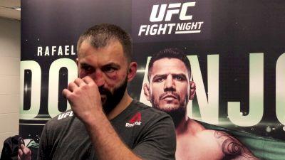 Emotional Andrei Arlovski Recaps UFC San Antonio Bout vs. Ben Rothwell